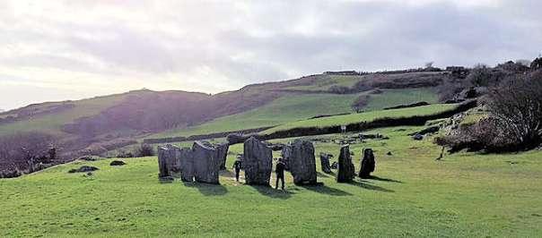 Drombeg Stone Circle Ireland