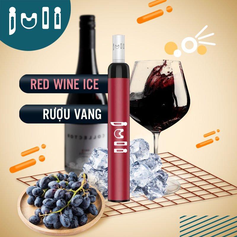 Juli pod red wine ice vị vang nho lạnh - Thuốc Lá Xanh