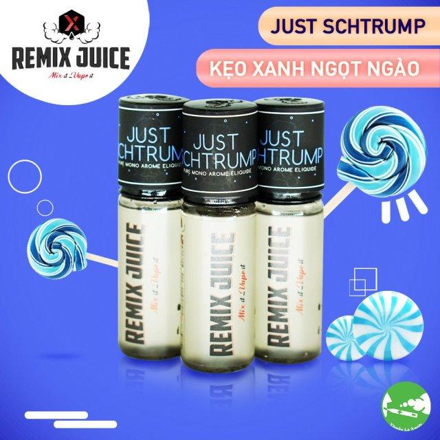 Remix Juice mùi đơn hương kẹo xanh ngọt - Thuốc Lá Xanh