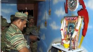 EXTRA. Pirapaharan pays homage, 5 July2005