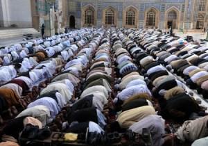 muslims a t prayer