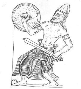 P1-Sinhala warrior