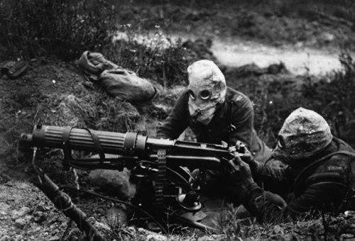 WW One- british-machine-gun-unit