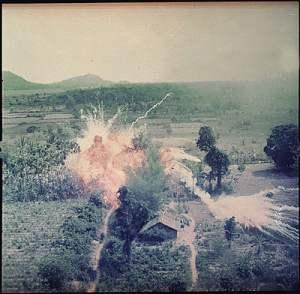 VIET--NAPALM BOMBS