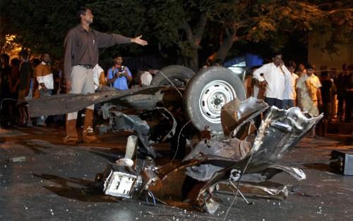 bomb ba;st --Reuters