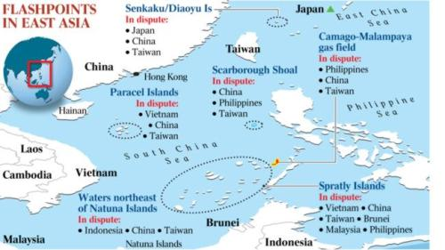 FLASHPOINTS IN  EAST ASIA