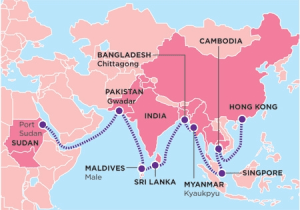 CHINA's silk route