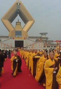 Famen temple-opening ceremony
