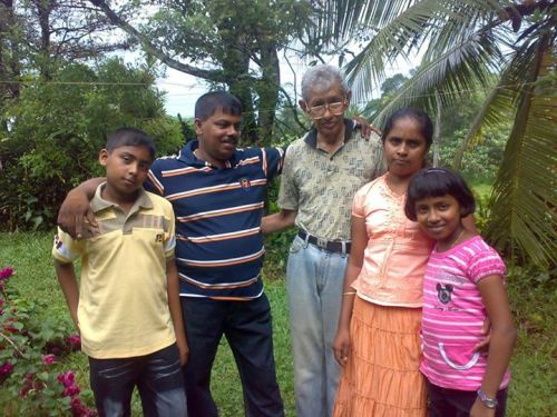 MALCOLM JANSZE and adopted family
