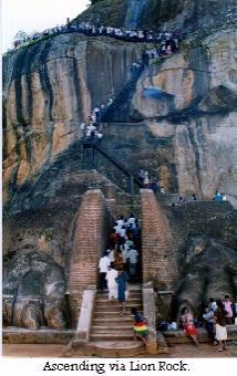 ascending Sigiri