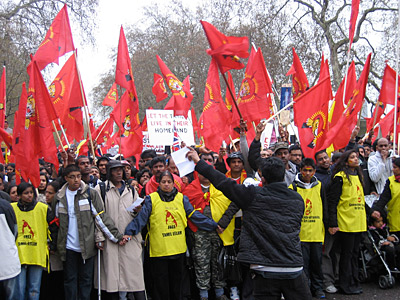 19=TAMIL DEMO in LONDON -socialsit worker 11--