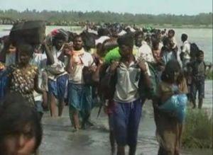 Fig 3b -- april 2009 exodus