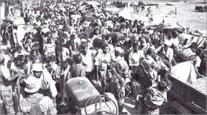 IDPs AT REAR-lKE HOUSE