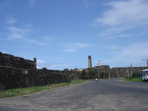 B-Left -- Fort from harbour's edge