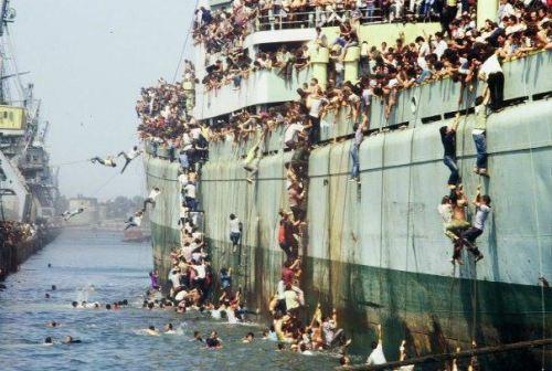 tramp steamer refugees 11