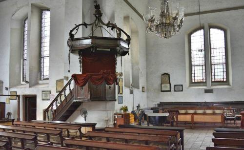 Wolvendaal Church was built by the Dutch-Ronan O'Connell