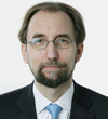 Portrait of HRH Prince Zeid, HC Designate (and passport photos)