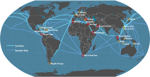 Map_main_shipping_routes