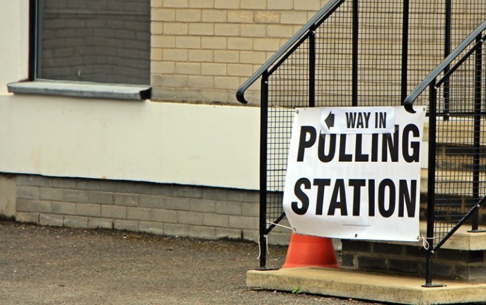 Polling Station Brexit
