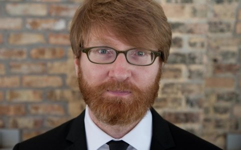 Chuck Klosterman. Photo by Rich Fleischman for Kris Drake Photography.