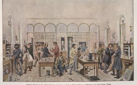 Laboratory of Justus von Liebig