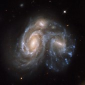 Colliding Galaxies - Arp 272