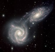 Colliding Galaxies - Arp 271