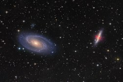 M81 and M82 (The Cigar Galaxy)