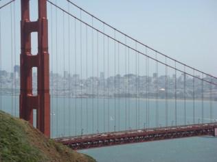 Golden Gate Bridge and SF - m