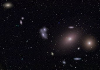 Markarian's Chain of Galaxies