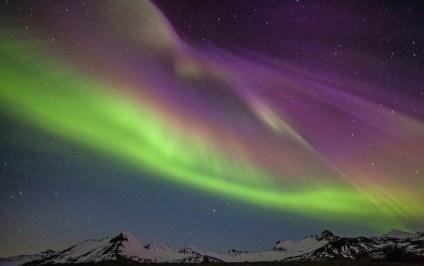 Aurora over Iceland - April 19, 2014 - by Jónína Guðrún Óskarsdóttir