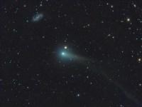 Comet PanSTARRS (with Galaxy) - from NASA's APOD - http://apod.nasa.gov/apod/ap140606.html