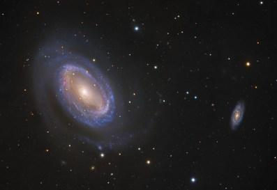 Galaxy - One-Armed Spiral Galaxy NGC 4725