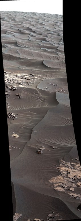 Mars - First Martian Dune Studied up Close - full size photo at httpwww.jpl.nasa.govspaceimagesdetails.phpid=pia20168