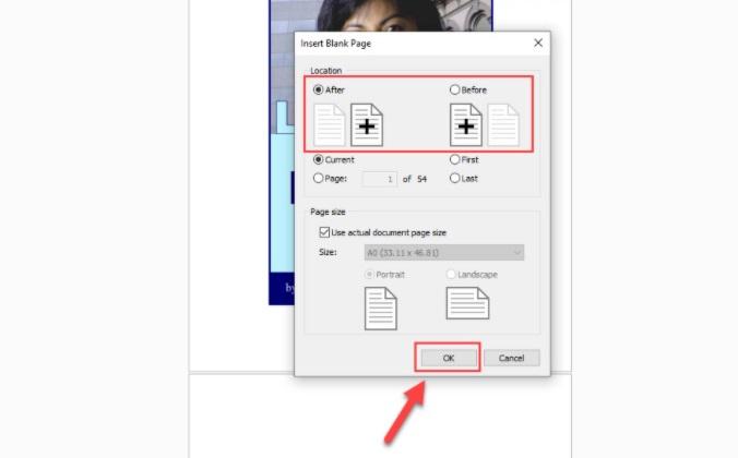 Cách chèn thêm trang vào file PDF