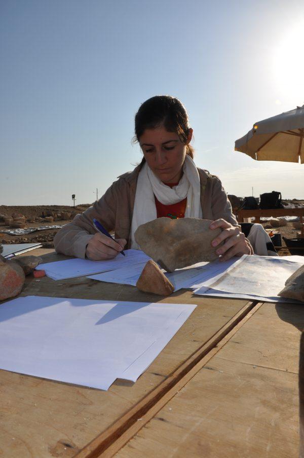 Marta Carratala, arqueóloga