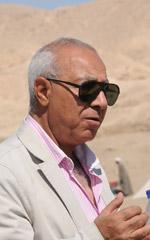 Mohammed El Bialy Exsecretario de Estado Antigüedades Egipto MOA Excodirector del proyecto