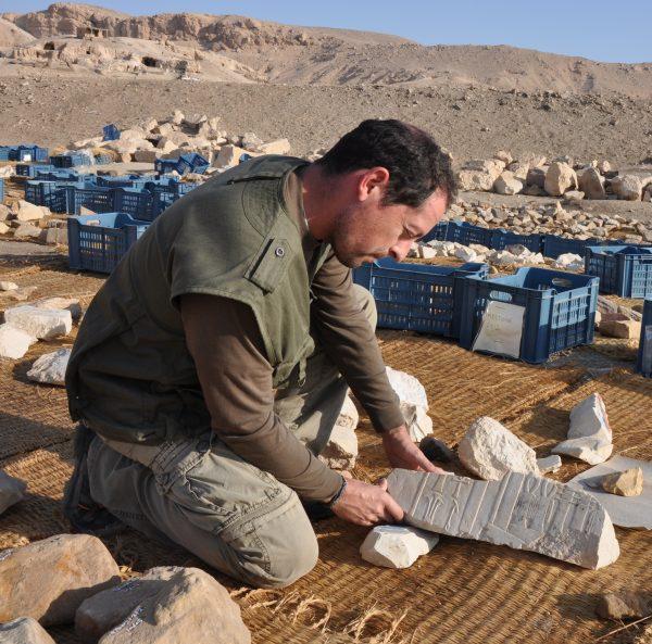 Rafael Serrano, arqueólogo