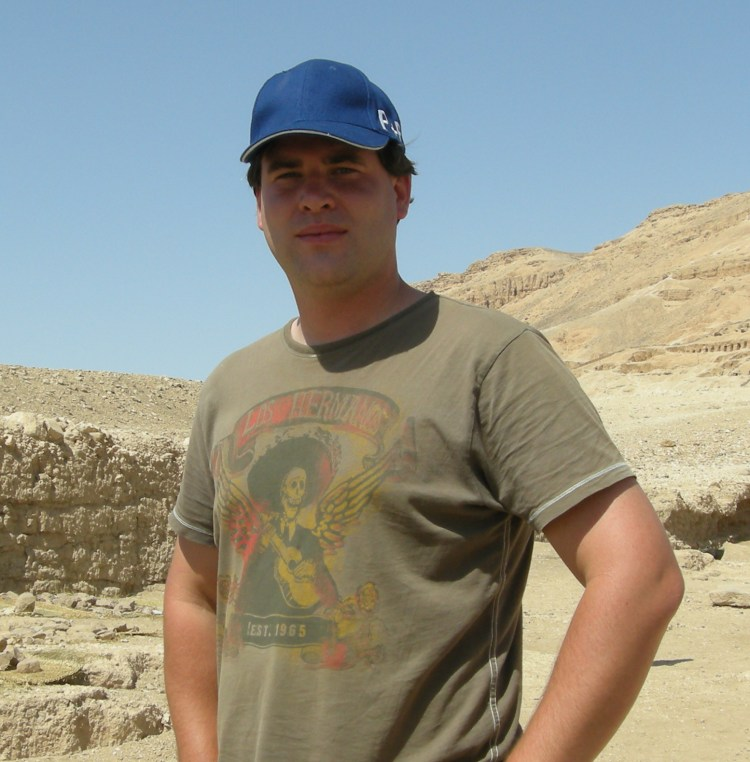 Christian Perzlmeier Egiptólogo
