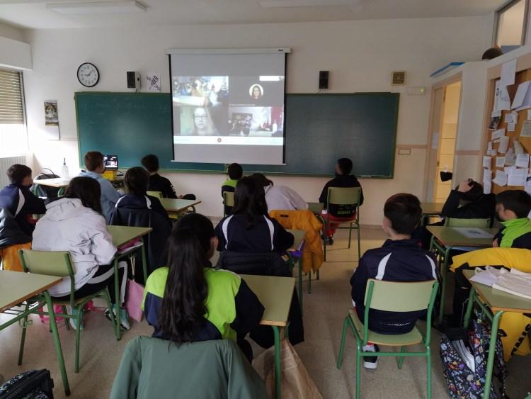 Conferencia_Myriam Seco_Colegio Pablo VI_Avila