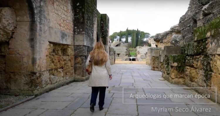 Myriam Seco Alvarez_arqueologas que marcan época_Itálica