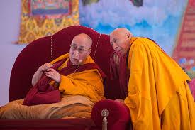 Samdhong Rinpoche and Dalai Lama