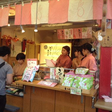Beautiful girls at Senso-ji Temple