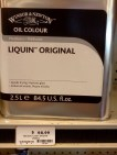 """Liquin Original — This reliable favorite (formerly known simply as """"Liquin"""") is a general-purpose low gloss medium that improves flow and transparency. It mixes easily with the brush or knife, smoothes brushwork, and is also suitable for textured oil techniques. Liquin Original approximately halves the drying time of oil colors, resulting in a drying time of anywhere from one to five days, depending on climate, colors used, and film weight. It is not recommended as a varnish or final coat."""