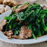 Bò xào cải rổ nhà hàng Thủy Tạ Đầm Sen
