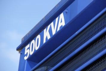 500 kVA Schriftzug