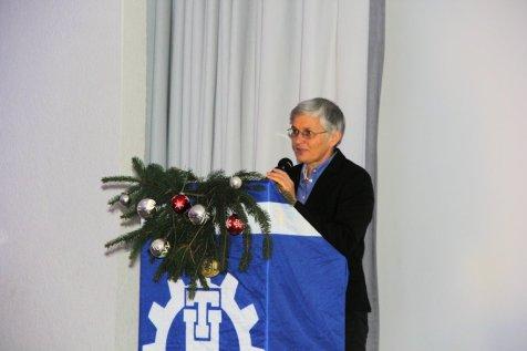 Bundestagsabgeordnete Dr. Ute Finckh-Krämer während ihres Grußwortes.Bild:THW/Paul Jerchel