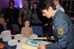 Kuchen für die Gäste. Bild:THW/Paul Jerchel