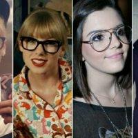 Nerds? Que nada! Óculos deixam os famosos teens muito estilosos!