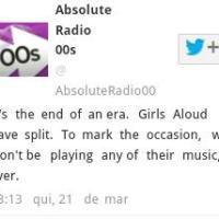 Rádio britânica bane músicas do grupo Girls Aloud de sua programação